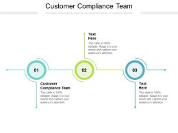 Customer Compliance Team Ppt Powerpoint Presentation Pictures Graphics Example Cpb
