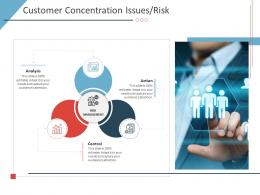 Customer Concentration Issues Risk Business Purchase Due Diligence Ppt Guidelines