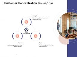 Customer Concentration Issues Risk Investigation For Investment Ppt Powerpoint Presentation Topics