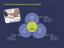 Customer Concentration Issues Risk Ppt Powerpoint Presentation File Rules
