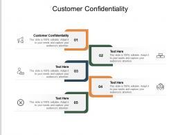 Customer Confidentiality Ppt Powerpoint Presentation Summary Master Slide Cpb