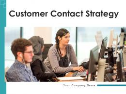 Customer Contact Strategy Engagement Customer Services Marketing Measure Communication