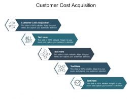 Customer Cost Acquisition Ppt Powerpoint Presentation Portfolio Background Image Cpb