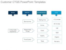 Customer Ctqs Powerpoint Templates