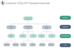 Customer Ctqs Ppt Samples Download