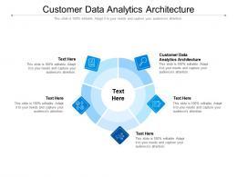 Customer Data Analytics Architecture Ppt Powerpoint Presentation Summary Infographic Template Cpb