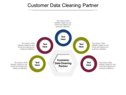 Customer Data Cleaning Partner Ppt Powerpoint Presentation Professional Influencers Cpb