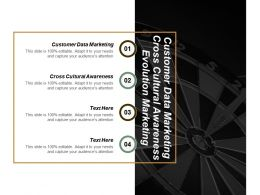 Customer Data Marketing Cross Cultural Awareness Evolution Marketing Cpb