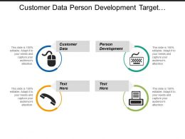 Customer Data Person Development Target Segment Evaluation Resources