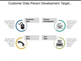 Customer Data Person Development Target Segment Evaluation Resources