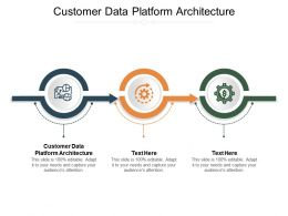 Customer Data Platform Architecture Ppt Powerpoint Presentation Summary Sample Cpb