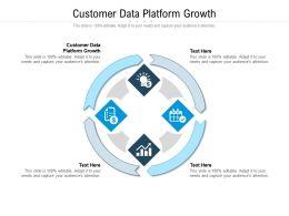 Customer Data Platform Growth Ppt Powerpoint Presentation Outline Slide Cpb