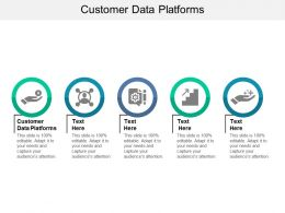 Customer Data Platforms Ppt Powerpoint Presentation Slides Clipart Images Cpb