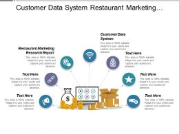 Customer Data System Restaurant Marketing Research Report Business Opportunities Cpb