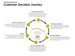 Customer Decision Journey Ppt Powerpoint Presentation Pictures