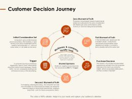 Customer Decision Journey Ppt Powerpoint Presentation Show Background Images