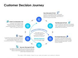 Customer Decision Journey Trigger Ppt Powerpoint Presentation Portfolio Styles