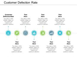 Customer Defection Rate Ppt Powerpoint Presentation Ideas Design Inspiration Cpb