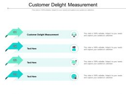 Customer Delight Measurement Ppt Powerpoint Presentation Inspiration Show Cpb