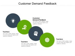 Customer Demand Feedback Ppt Powerpoint Presentation Professional File Cpb