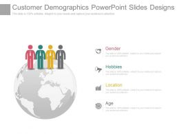 Customer Demographics Powerpoint Slides Designs
