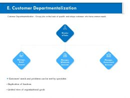 Customer Departmentalization Government Ppt Powerpoint Presentation Outline Visuals