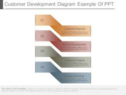 Customer Development Diagram Example Of Ppt