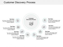 Customer Discovery Process Ppt Powerpoint Presentation Portfolio Cpb