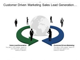 Customer Driven Marketing Sales Lead Generation Leadership Skills Cpb