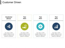 Customer Driven Ppt Powerpoint Presentation Infographic Template Slides Cpb