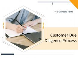 Customer Due Diligence Process Powerpoint Presentation Slides