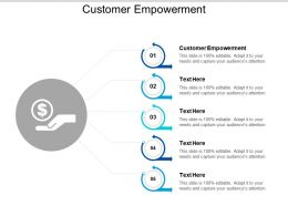 Customer Empowerment Ppt Powerpoint Presentation Ideas Layouts Cpb
