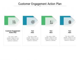 Customer Engagement Action Plan Ppt Powerpoint Presentation Styles Shapes Cpb