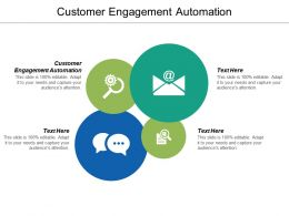 Customer Engagement Automation Ppt Powerpoint Presentation Icon Slides Cpb