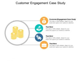 Customer Engagement Case Study Ppt Powerpoint Presentation Ideas Slides Cpb