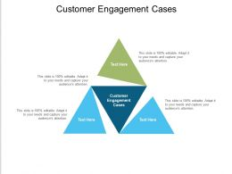Customer Engagement Cases Ppt Powerpoint Presentation Layouts Example File Cpb