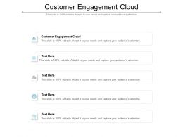 Customer Engagement Cloud Ppt Powerpoint Presentation Show Background Image Cpb