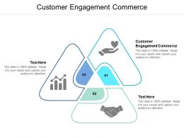 Customer Engagement Commerce Ppt Powerpoint Presentation Portfolio Images Cpb