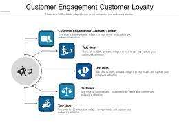 Customer Engagement Customer Loyalty Ppt Powerpoint Presentation Slides Brochure Cpb
