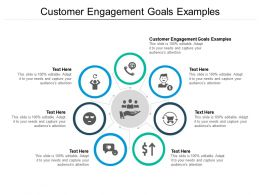 Customer Engagement Goals Examples Ppt Powerpoint Presentation Outline Ideas Cpb