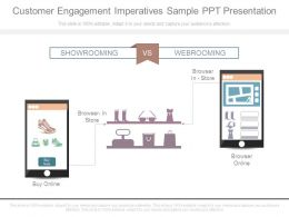 Customer Engagement Imperatives Sample Ppt Presentation