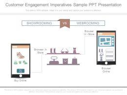 Customer Engagement Imperatives Sample Ppt Presentation