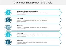 Customer Engagement Life Cycle Ppt Powerpoint Presentation Outline Infographic Template Cpb