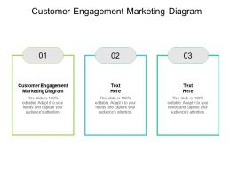 Customer Engagement Marketing Diagram Ppt Powerpoint Presentation Pictures Cpb