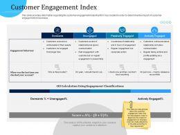 Customer Engagement Optimization Customer Engagement Index Ppt Example File