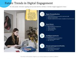 Customer Engagement Optimization Future Trends In Digital Engagement