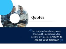 Customer Engagement Optimization Quotes R776 Ppt Gallery
