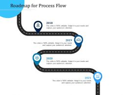Customer Engagement Optimization Roadmap For Process Flow R777 Ppt File Display