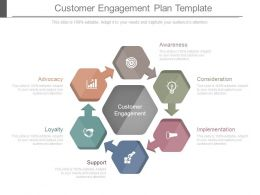 customer_engagement_plan_template_powerpoint_guide_Slide01