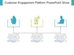 Customer Engagement Platform Powerpoint Show
